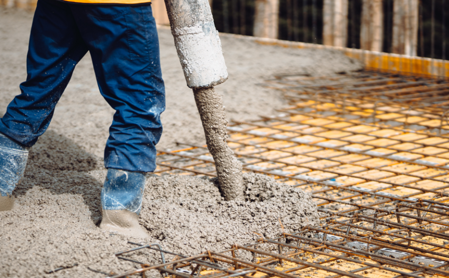 uso del hormigón en la construcción